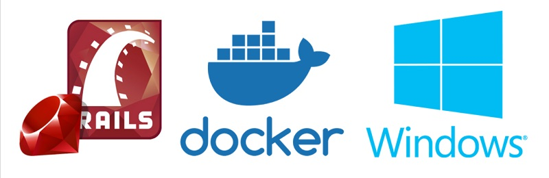 Ruby on Rails development on Windows using Docker.